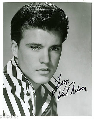 REPRINT - RICKY NELSON autographed signed photo copy reprint