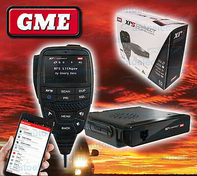Gme Xrs Connect Compact 80Ch Uhf Cb Radio Bluetooth Android Iphone App Xrs-370C