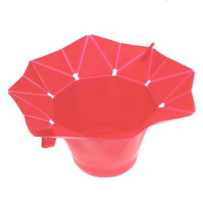 Silicone Popcorn Popper Maker Microwave Popcorn Machine for Kitchen Red