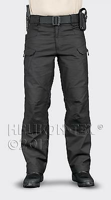 HELIKON TEX UTP URBAN TACTICAL PANTS Trousers Hose black schwarz Small Regular