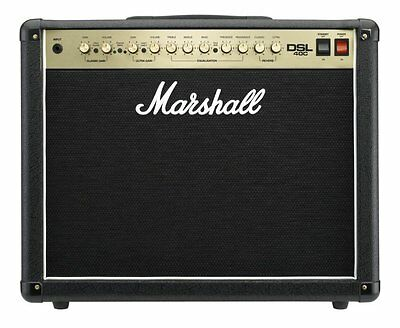 """Marshall DSL40C 40W Tube 2-Channel 1x12"""" Electric Guitar Amplifier Combo Amp New"""