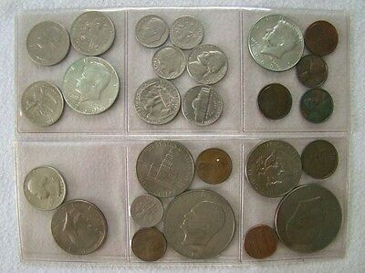 USA - Kennedy Half Dollar - Dollar - Dime - etc.  Lot - Art. 6027