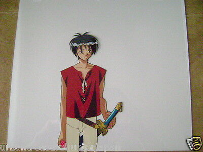 The Vision Of Escaflowne Van Fanel Anime Production Cel 11