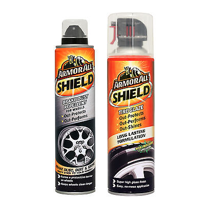 Armorall Shield Alloy Wheel Brake Dust Repellent + Tyre Glaze Shine Protector