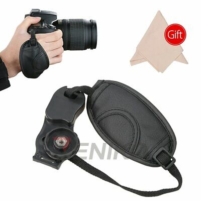 Soft PU Leather Hand Grip Wrist Strap for Canon Nikon Sony Olympus D7100 650D