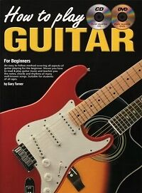 HOW TO PLAY GUITAR for Beginners Book/CD/DVD*