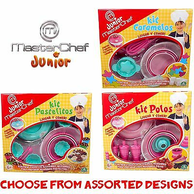 JUNIOR MASTERCHEF - Kids Cooking Utensil Cook Sets SPAINSH BOXED - Assorted