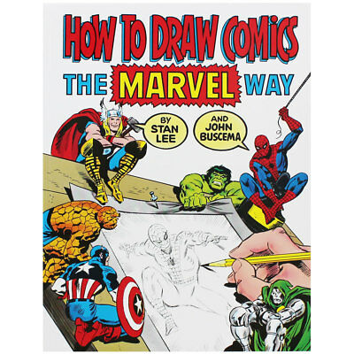 How To Draw Comics The Marvel Way (Paperback), Books, Brand New