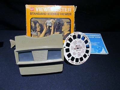 GAF View-Master Standard Vintage Stereoviewer 2014 with Box, Reel & Mail Form
