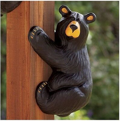 Jeff Fleming BearFoots Corner Hanging Climber Grand Bear by Big Sky Carvers