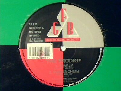 "PRODIGY Charly 12"" ITALY COME NUOVO LIKE NEW!!!"