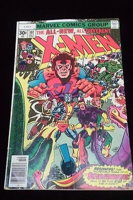 MARVEL The All New, All Different X-Men #107 1st Appearance of STARJAMMERS