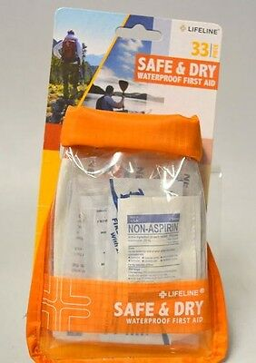 Lifeline Safe and Dry Small First Aid 33 Pieces #4084