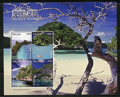Palau 2016 The Rock Islands  Sheet Of Four Stamps Mint Never Hinged
