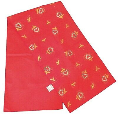 Red Christmas Table Runner 100% Cotton Marie Sohl Designs