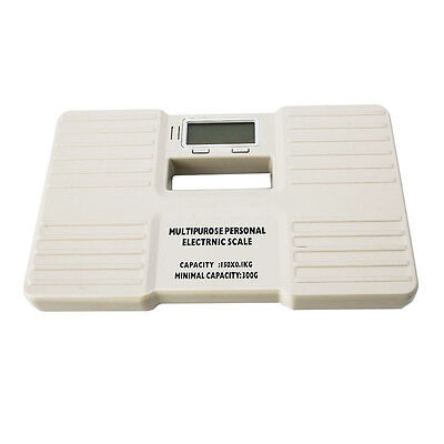 Portable 150kg/300g Digital LCD Body Weight Scale Powered