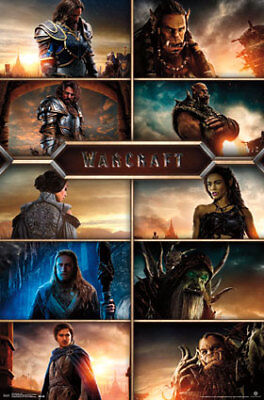 "Poster - Warcraft - Grid New Wall Art 22""x34"" rp14027"