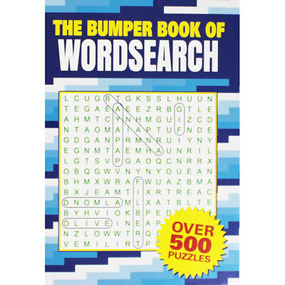 The Bumper Book of Wordsearch (Paperback), Toys & Games, Brand New