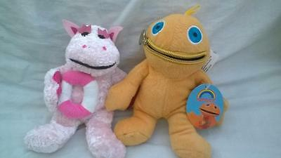 WL Official Rainbow ZIPPY and BUNGO Soft Toys approx 15cm gS