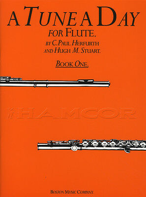 A Tune A Day for Flute 1 Sheet Music Book Learn How To Play Method Paul Herfurth