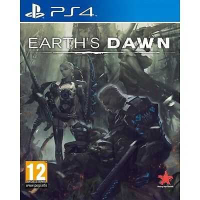 Earth's Dawn (PS4)  BRAND NEW AND SEALED - QUICK DISPATCH