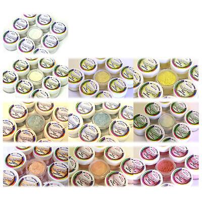 Rainbow Dust Edible Cake Glitter Decoration - CHOOSE ANY FROM SILK PEARL RANGE