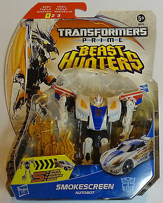 HASBRO® A6216 Transformers Beast Hunters Prime Deluxe Smokescreen