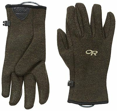 Outdoor Research Mens Flurry Gloves Earth Gloves M
