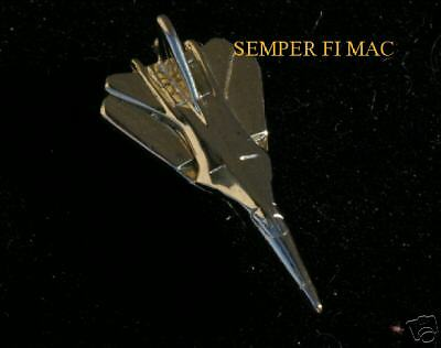F-111 Aardvark Gold 3D Lapel Hat Pin Afb Made In The Usa! Us Air Force Usaf Sac