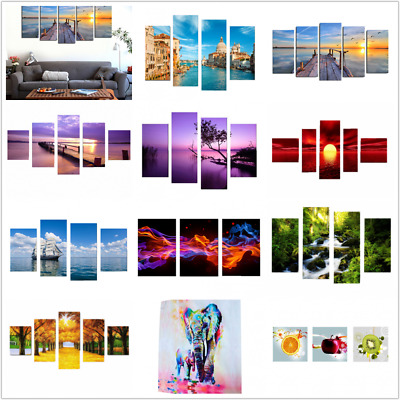 Large Canvas Nature Home Decor Wall Art Oil Painting Picture Print (No Frame)