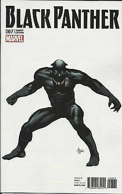 Marvel Black Panther comic issue 7 Limited variant  1 in 10 cover