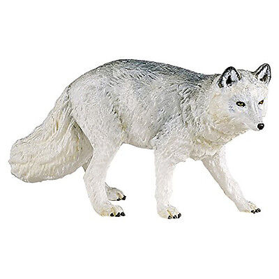Papo 50200 Polar Arctic Fox Model Figurine Toy Replica - NIP