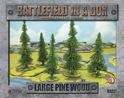 Large Pine Wood - Battlefield in a Box