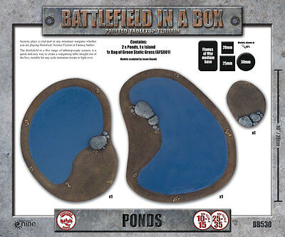 Ponds - Battlefield in a Box