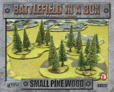 Small Pine Wood - Battlefield in a Box