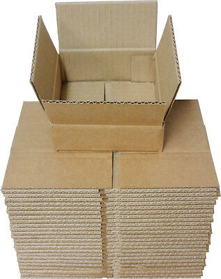 (25) CDBC05 5 CD Boxes Mailers Storage Brown Cardboard Shipping Collection Store