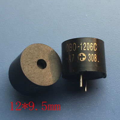 NEW Waterproof buzzer OBO-1206C-A2 Active buzzer 3V-8V 12*9.5mm washable