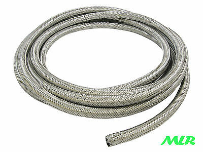 8Mm Id Multilayer Stainless Steel Braided Rubber Fuel Injection Hose Pipe Bah