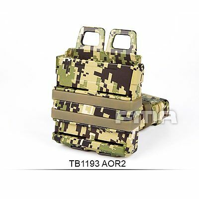 Fine Quality Tactical Water Transfer FAST Magazine Holster Set 7.62 AOR2 H1193