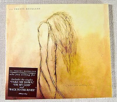 The Pretty Reckless ~ Who You Selling For ~ NEW CD Album ~ Digipak  ~ 2016