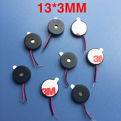 NEW Ultra-thin buzzer Piezoelectric type Passive SMD lead buzzer 13 * 2.5mm