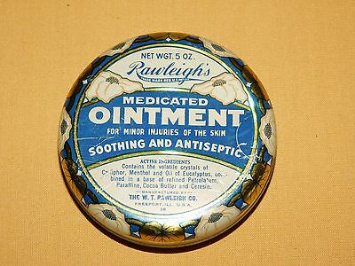 Vintage Medicine Rawleigh's Ointment Round Tin *Empty*