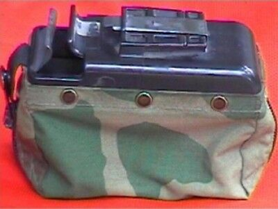 US ARMY SAW MAG POUCH WOODLAND CAMOUFLAGE NUTSACK M249 Magazin Tasche