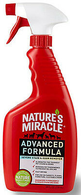 NATURE'S MIRACLE - Advanced Formula Pet Stain & Odor Remover - 1 Gallon (128 oz)