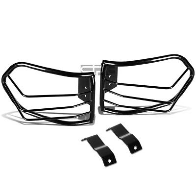 Fit 07-12 Fj Cruiser Suv Black Stainless Steel Tail/Brake Light/Lamp Cage Guard