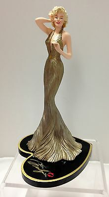 Shimmering Sweetheart Marilyn Monroe Figurine  Bradford Exchange