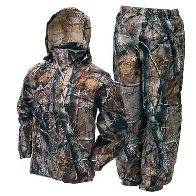 Frogg Toggs All Sport Jacket Pants Combo Realtree Xtra Camo Rain Suit All Sizes