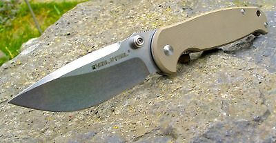 Real Steel H6 Coyote stonewashed Blue Sheep 14C28N 60° HRC Sandvic 01RE037