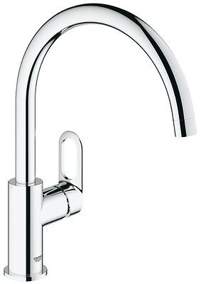 GROHE BAULOOP Swivel High Spout Kitchen Basin Sink Mixer Tap Single Lever 31368