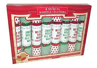 Cbx780 Musical Whistle Crackers Pack Of 8